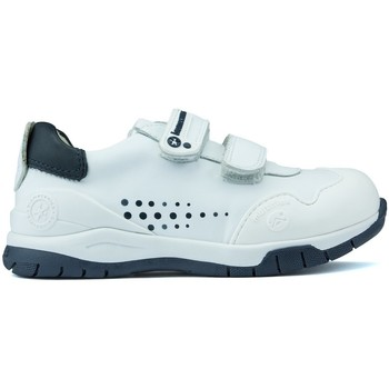 Shoes Children Low top trainers Garvalin BIOMECANICS ANDY shoes WHITE_BLUE