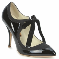 Shoes Women Heels Rupert Sanderson BLAZE Black