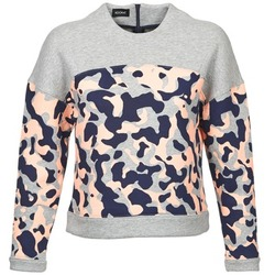 Clothing Women sweaters Kookaï EXEDOU Grey / Multicoloured
