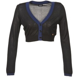 Clothing Women Jackets / Cardigans Kookaï BALOUE Black