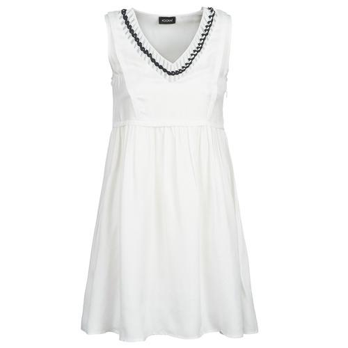 Clothing Women Short Dresses Kookaï BATUILLE White