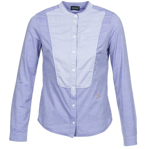 Clothing Women Shirts Kookaï BELDOU Blue