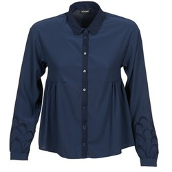 Clothing Women Shirts Kookaï QUELATE Marine
