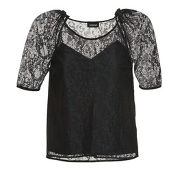 Clothing Women Tops / Blouses Kookaï BASALOUI Black