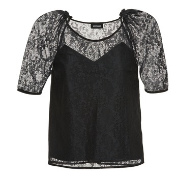 Clothing Women Tops / Blouses Kookaï BASALOUI Black