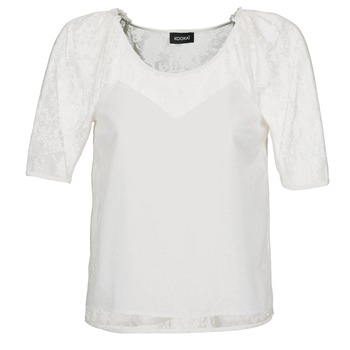 Clothing Women Tops / Blouses Kookaï BASALOUI White
