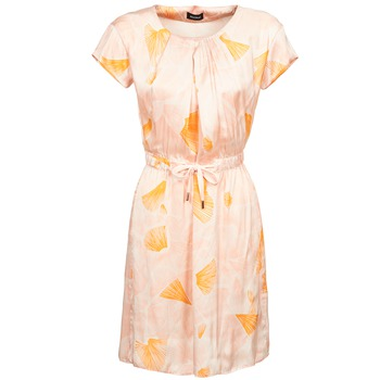Clothing Women Short Dresses Kookaï VOULATE Pink / Yellow