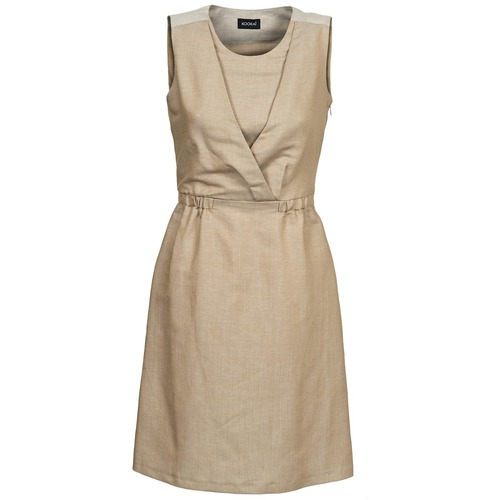 Clothing Women Short Dresses Kookaï VETAKI Beige