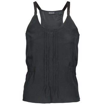 Clothing Women Tops / Sleeveless T-shirts Kookaï GUISINE Black