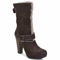 Shoes Women Ankle boots Vic EFARAT Brown