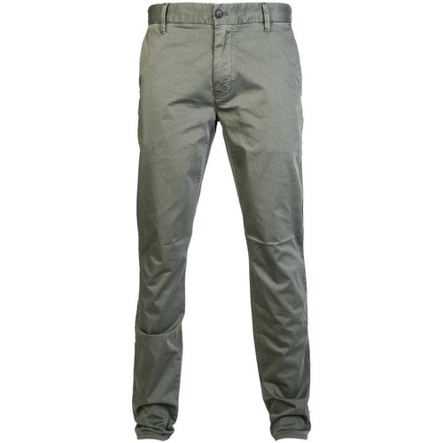 Clothing Men Chinos Armani 3Z1P151NEDZ_0544khaki green