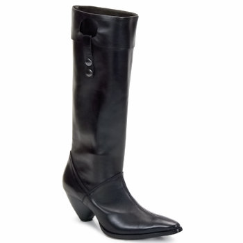 Shoes Women High boots Stephane Gontard PUCCINI Black