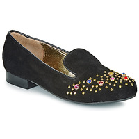 Shoes Women Loafers Lola Ramona PENNY Black / Gold