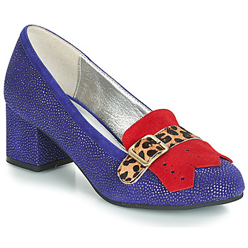 Shoes Women Heels Lola Ramona EVE Blue / Red