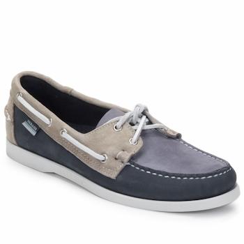 Shoes Men Boat shoes Sebago SPINNAKER Navy / White / Blue