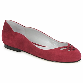 Shoes Women Flat shoes Fred Marzo MOMONE FLAT Bordeaux