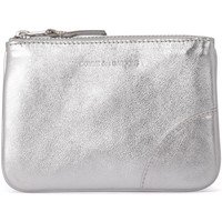 Bags Women Wallets Comme Des Garcons silver leather purse Silver