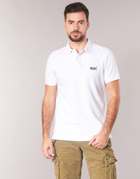 Clothing Men Short-sleeved polo shirts Superdry CLASSIC PIQUE S/S POLO White