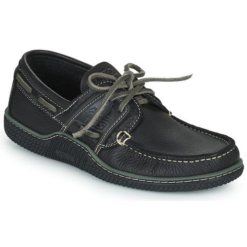 Shoes Men Boat shoes TBS GLOBEK Black