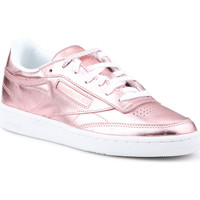 Shoes Women Low top trainers Reebok Sport Club C 85 S Shine CN0512 pink
