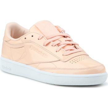 Shoes Women Low top trainers Reebok Sport Club C 85 Patent BS9778 orange