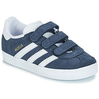 Shoes Boy Low top trainers adidas Originals GAZELLE CF I Blue