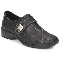 Shoes Women Derby Shoes Rieker DORO SIOSI Black