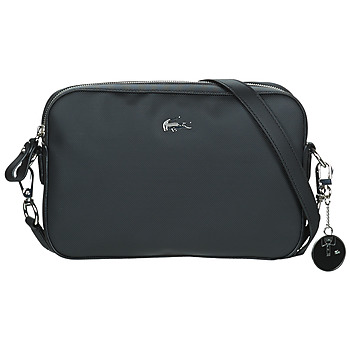 Bags Women Shoulder bags Lacoste DAILY CLASSIC Black