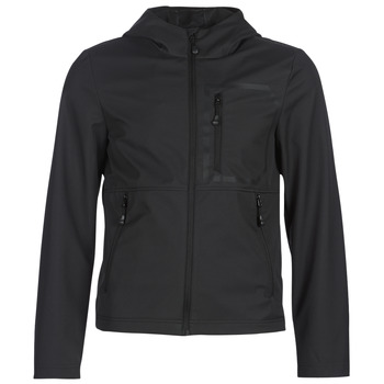 Clothing Men Jackets Geox TIRPIRUTE Black