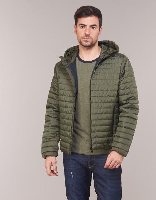 Clothing Men Duffel coats Geox TIRPIRUNE Kaki