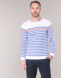 Clothing Men Long sleeved tee-shirts Armor Lux YAYAYOUT White / Blue / Red