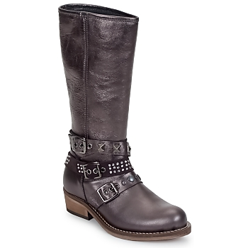 Shoes Girl High boots Hip NIEGRA Silver
