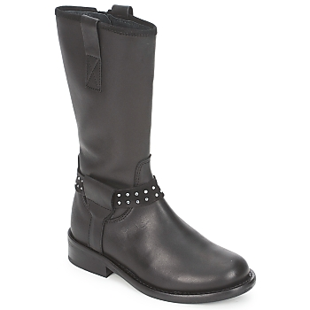 Shoes Girl Mid boots Hip GRABI Black