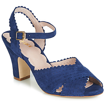Shoes Women Sandals Miss L'Fire BEATRIZ Blue