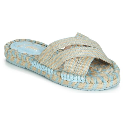 Shoes Women Sandals Miss L'Fire BOHEME Beige
