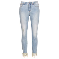 Clothing Women 3/4 & 7/8 jeans Armani Exchange HELBAIRI Blue / Clear