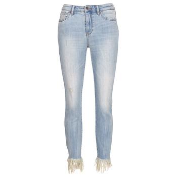 Clothing Women 3/4 & 7/8 jeans Armani Exchange HELBAIRI Blue / Clear