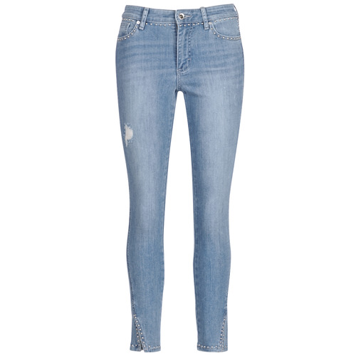 Clothing Women 3/4 & 7/8 jeans Armani Exchange HELBIRI Blue / Clear