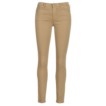 Clothing Women 5-pocket trousers Armani Exchange HELBIRO Beige