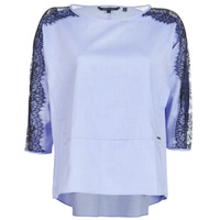 Clothing Women Tops / Blouses Armani Exchange HELBORI Blue
