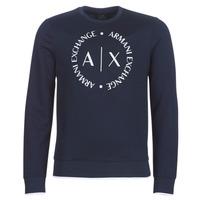 Clothing Men Sweaters Armani Exchange HERBARI Marine