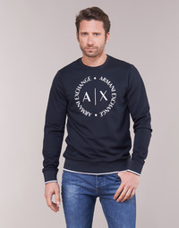 Clothing Men sweaters Armani Exchange HERBARI Black
