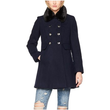 Clothing Women coats Anastasia C10196-NAVY Black