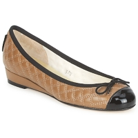 Shoes Women Flat shoes French Sole HENRIETTA Taupe
