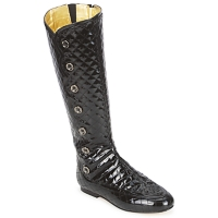 Shoes Women High boots French Sole PUMPKIN Black
