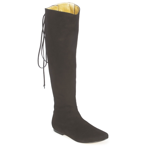 Shoes Women High boots French Sole PRINCE Black