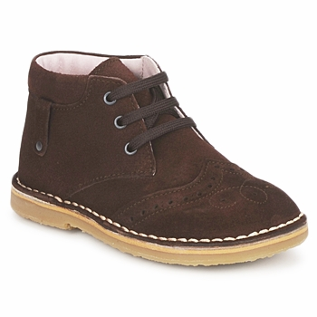 Shoes Girl Mid boots Cacharel HARRY Brown