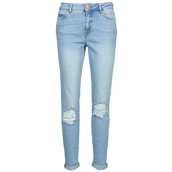Clothing Women Slim jeans Noisy May KIM Blue / Clear