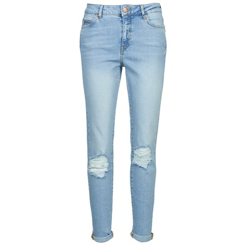 Clothing Women slim jeans Noisy May KIM Blue / Clear