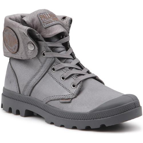 Shoes Walking shoes Palladium Manufacture PLBRS BGZ L2 U 73080-021-M grey